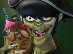 Gorillaz - Plastic Beach electronic hip-hop alternative